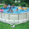 ( ขนาด 16 ฟุต )สระน้ำ อัลทร้าเฟรม Intex Ultra Frame Pool Water [16 x 48 ฟุต] ( 488 x 122 ซม. )