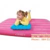 Intex ที่นอนเป่าลม สำหรับเด็ก สีสวย พร้อมหมอน (สีฟ้า สีส้ม สีชมพู ) In-66801