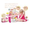 ชุดครัว มินิมารเก็ต. Mini market play set สีชมพู