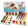 ชุดของเล่นไม้ 8 แบบ Wooden Teaching Toys 8 แบบ (2Y+)