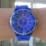 นาฬิกา GENEVA และXinslon ตัวเลขอารบิค sizeใหญ่ หน้าปัดไม่ล้อมเพชร