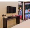 โต๊ะคอนโซล มีดีไซน์ สีโอ๊ค สำหรับโรงแรม รีสอร์ท