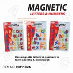 First Classroom - Magnetic ตัวอักษรแม่เหล็ก ตัวพิมพ์เล็ก พิมพ์ใหญ่ และตัวเลข ขนาด 2 นิ้ว สำเนา **NEW**