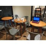 โต๊ะกลมร้านกาแฟ ดีไซน์สวย เหมาะสำหรับร้านกาแฟทุกสไตล์ (RZ-CAFE)