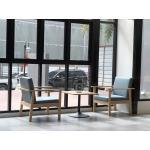 เก้าอี้อาร์มแชร์ มีสไตล์ ดีไซน์สวย เหมาะสำหรับร้านกาแฟ คาเฟ่