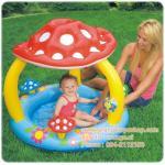 สวนน้ำเห็น หรรษา Mushroom Baby Paddling Pool 57407NP ขนาด 102cm x 89cm