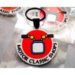 พวงกุญแจ โลโก้ร้าน Motor Classic Shops
