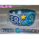 [พร้อมส่ง] สายรัดข้อมือ Super Junior Wristband แบบ 03 +Photocard
