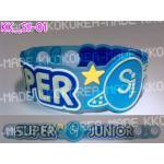 [พร้อมส่ง] สายรัดข้อมือ Super Junior Wristband แบบ 01 +Photocard