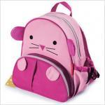 กระเป๋าเป้ แมวน้ำ สีชมพู
