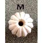 มือจับ ปุ่มแขวน เม็ดมะยมนูน มีเส้นทอง - sz M 3 ซม.