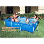 สระน้ำสีเหลี่ยม 2.6 เมตร Rectangular Frame Swimming Pool (28271) ขนาด 260*160*65 เซนติเมตร