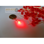 LED 5 มิล ชนิดตัวสี (สีแดง)