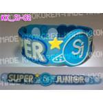 [พร้อมส่ง] สายรัดข้อมือ Super Junior Wristband แบบ 02 +Photocard