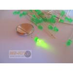 LED 3 มิล ชนิดตัวสี (สีเขียว)
