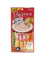 CIAO ขนมแมวเลีย รสซาซิมิ ส้ม