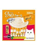 CIAO แมวเลีย ไก่ซีฟู้ด14g×20 ส้ม
