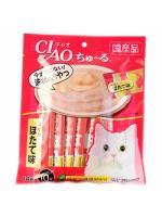 CIAO แมวเลีย รสทูน่าขาวหอยเชลล์ แดงล้วนx10