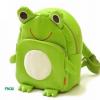 กระเป๋าเป้ เด็ก Linda รูปกบสีเขียว ลายนี้น่ารักสุดๆ ค่ะ วัสดุเป็นหนัง PVC นิ่ม น้ำหนักเบา