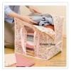 GH070 กระเป๋าเก็บใส่เสื้อผ้า ผ้าห่ม ผ้าเช็ดตัว ป้องกันฝุ่น ( 1 แพ็ค มี 3ชิ้น) ผ้าไม่ทอ ทำจากเยื้อไม้ไผ่ ผ้าบาง รับน้ำหนักไม่มาก ขนาด : 36 x34 x36 ซม.