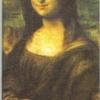 แนวภาพศิลปะ ภาพโมนาลิซ่า เป็นภาพ 8 บล๊อคในแผ่น กระดาษแนพคินสำหรับทำงาน เดคูพาจ Decoupage Paper Napkins ขนาด 21X22cm