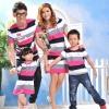เสื้อครอบครัว ชุดครอบครัว มีหลายสี หลายแบบ ให้เลือกค่ะ