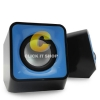 Nubwo BLOCK speaker 2.0 usb ns003 - สีน้ำเงิน