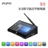 "Pipo X9 All-in-One MiniPC/TV-BOX/POS มี 8.9"" 1920x1200 Touch Screen USBx4 WIN10+Android4.4 Dual OS"