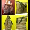 กระเป๋าผ้าอุ้มเด็กม้ง HB 373 /Embroidered Ethnic Hmong baby carrier Fabric HB 373