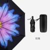 ร่มกันแสงแดดUV ร่มกันฝน 3พับ ยาว 28ซม.ด้านบนสีดำล้วนด้านล่างเป็นลายดอกไม้ มีให้เลือกหลายสีค่ะ