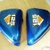 ฝากระเป๋า CG125 สีน้ำเงิน เทียม งานใหม่
