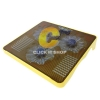 Cooler Pad NUBWO NF100 Trident (3Fan) Yellow