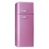ตู้เย็น SMEG รุ่น FAB30RO7 [สีชมพูกูหลาบ]
