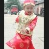 ชุดจีนเด็กชาย 3ชิ้น เสื้อ- เสื้อกั๊กสีทอง - หมวก