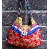 กระเป๋าผ้าอุ้มเด็กม้ง HB 372 /Embroidered Ethnic Hmong baby carrier Fabric HB 372