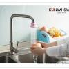 GK229 หัวกรองต่อกับก็อกน้ำ ช่วยให้น้ำกระจายเป็นฝอย สามารถหมุนปรับการไหลของน้ำได้ ขนาดรูใส่หัวก๊อก 1.3 cm.