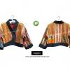 เสื้อเอวลอย ผ้าชาวเขา HDJ 002 P /Hmong Jacket HDJ 002 P