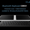 Cube CBK01 Bluetooth wireless keyboard Protective cover+Tablet kickstand สำหรับ Windows/Andorid/iOS Tablet