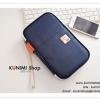 GB058 กระเป๋าถือใส่เงิน Passport นามบัตร บัตรATM มือถือ Bookbank ใส่ของจุกจิก เปิด-ปิด ด้วยซิบ มีสายคล้องมือขนาด : 22 x 13.5 x 3.5 ซม.
