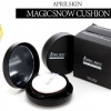 [Pre] Magic Snow Cushion SPF50+ PA+++ (BLACK-Cover) (#21 Light Beige/#22 Pink Beige/#23 Natural Beige)