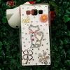 เคส Samsung J5 เคสซัมซุงJ5 เคสซัมซุงเจ5 เคสคริสลัล รูปแมวน่ารัก