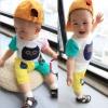 ชุดแฟชั่นเด็ก 2 ชิ้น เสื้อ + กางเกงตกแต่งลายนกฮูก น่ารัก สไตล์เกาหลี(เด็ก 6 เดือน-3ขวบ ค่ะ)ขนาด5
