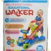 รถผลักเดิน รถนั่งขาไถ 2in1 ปรับหนืดได้ (Multi-Functional Walker) สีฟ้า