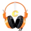 HEADSET SIGNO HP-802 (Orange)