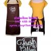 ผ้ากันเปื้อนเต็มตัวแบบร้านFresh & Wraps