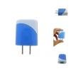 หัวปลั๊กชาร์จมือถือ รุ่น PowerMax สีฟ้า (Adapter) ยอดนิยม