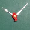 ชุดตัวเครื่องนาฬิกาญื่ปุนเดินเรียบ เข็มลายโมเดิน ขนาดเล็ก เข็มสั้น-เข็มยาวสีเงิน เข็มวินาทีรูปปลาสีแดง อุปกรณ์ DIY