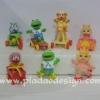 1986 McDonald's แมคโดนัลด์ ของเล่น ของสะสม Happy Meal Muppet Babies เจ้าหุ่นมหาสนุกเบบี้ อยู่นอกแพ็คค่ะ