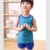ชุดเซตเด็ก เสื้อ +กางเกง สีน้ำเงิน-เขียว น่ารักสไตล์เกาหลี เก๋มากค่ะ