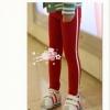 กางเกงเด็ก เทห์ๆ สีแดง สไตล์เกาหลี ผ้าเนื้อนุ่ม ใส่สบาย